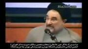 انتقاد خاتمی به احمدی نژاد