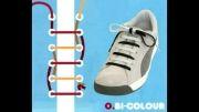 آموزش بستن انواع بند کفش
