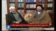 دیدار سید حسن خمینی با روحانی