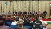 تیکه رحیم پور به سفیر انگلیس درحضور سفیر انگلیس