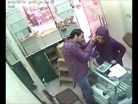 دزدی خانم زرنگ از طلافروشی