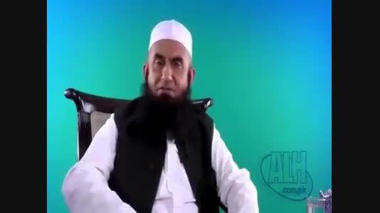 رهبر جماعت تبلیغ پاکستان برای امام حسین روضه می خواند