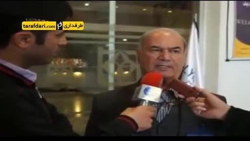 کتک زدن خبرنگار توسط مدیر عامل استقلال