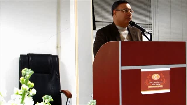 سحنرانی حسینعلی صالحی در جشن گمرک