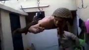 شکنجه سرباز سوری توسط کفار سلفی