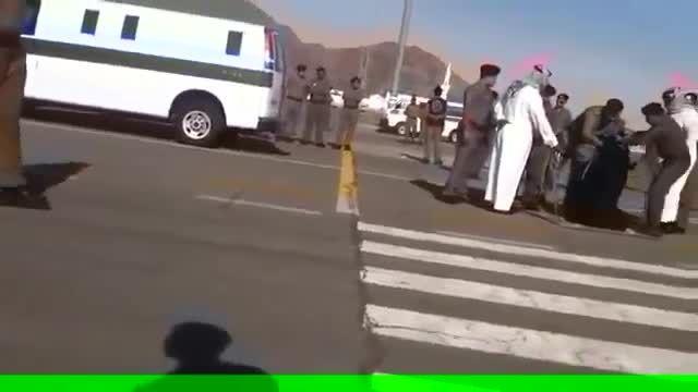 اعدام یک زن در عربستان سعودی 2015