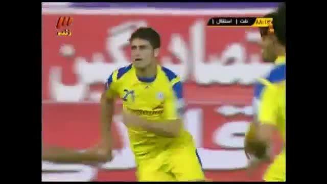 یکی از زیباترین گل ها در فوتبال ایران
