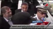 نخستین فیلم از محمد مرسی در قفس اتهام