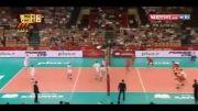 ایران 2 . 3 فرانسه والیبال قهرمانی جهان ۲۰۱۴