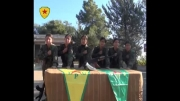 اتمام دوره آموزشی زنان کورد، برای مبارزه با داعش
