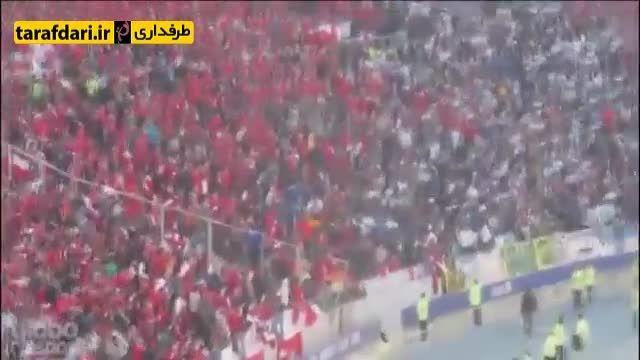 درگیری هواداران شیلی با خانواده لیونل مسی