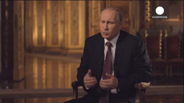 پوتین از سناریوی جنگ با اوکراین می گوید!!