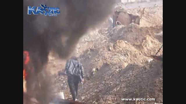 داعشی ها وقتی نمیتونن بجنگن انتحاری میرند