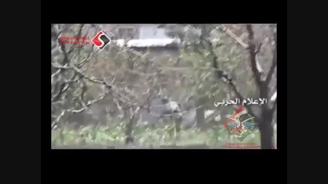 عملیات ارتش سوریه و حزب الله سوریه-عراق-داعش