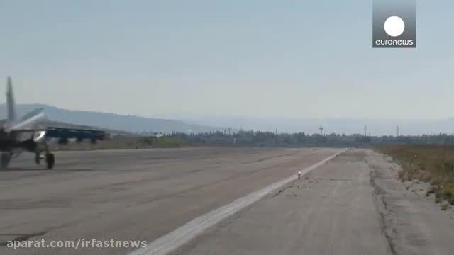 روسیه پالایشگاه مهم داعش را در رقه سوریه بمباران کرد