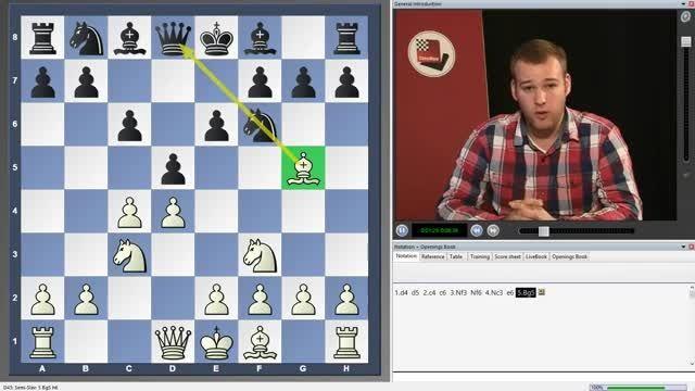 فیلم آموزشی شطرنج تاکتیک های نیمه اسلاو chessok.ir