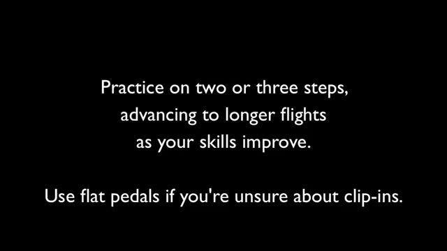 چگونه با دوچرخه از پله ها بالا برویم