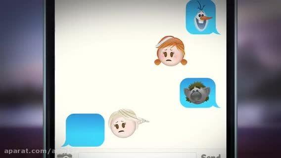 فروزن به سبك emoji