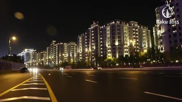 افتتاحیه بازیهای اروپایی ۲۰۱۵ در باکو آذربایجان بخش 1
