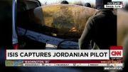 خلبان جنگنده ائتلاف اسیر داعش شد