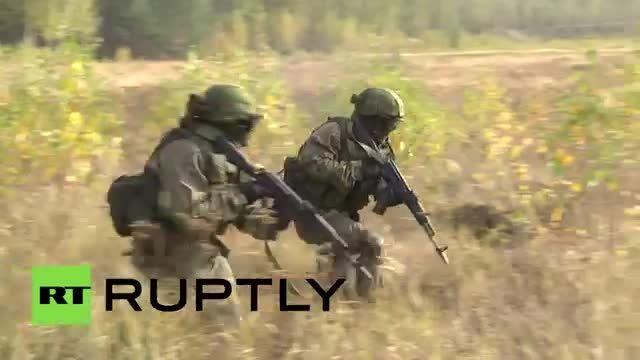 اموزش نیرو ویژه ارتش روسیه برای مقابله با داعش
