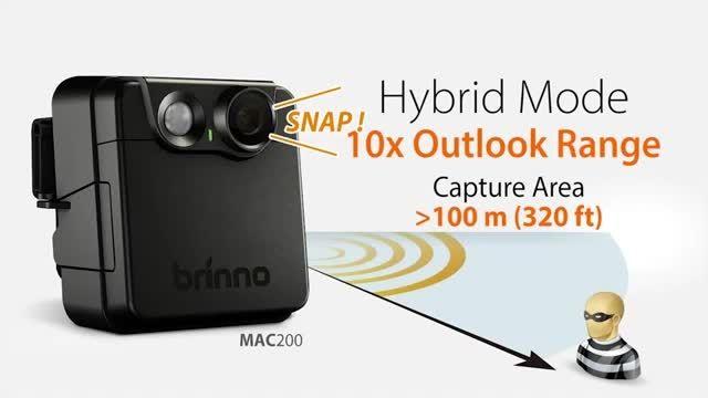 دوربین امنیتی – چشمی دیجیتال - برینو MAC200