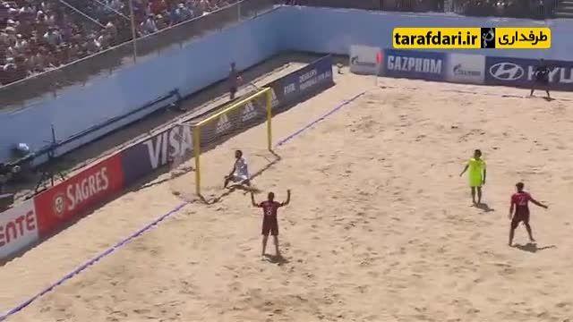 پرتغال 4-2 ژاپن (جام جهانی فوتبال ساحلی)