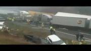 برخورد 75 خودرو و تنها سه کشته در آمریکا
