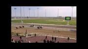 زمین خوردن رئیس جمهور ترکمنستان با اسب !!