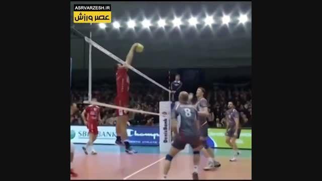 ٤ حركت برتر والیبال در لیگ قهرمانان والیبال اروپا