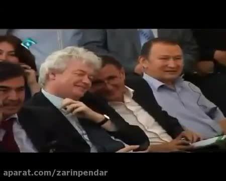 تحقیر سفیر آمریکا و انگلیس در مقابل - رحیم پور ازغدی