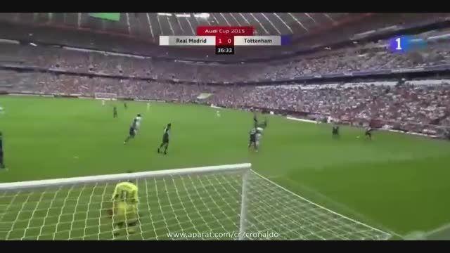 گل های بازی : رئال مادرید 2 - 0 تاتنهام (دوستانه)