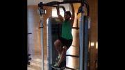 ورزش کردن فرهاد مجیدی