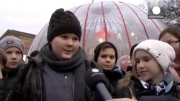 جمع آوری هدایای کریسمس برای کودکان محروم در بوداپست