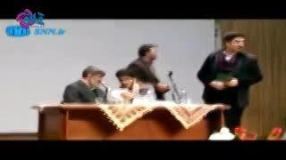 تلاش برای خفه کردن یک دانشجو توسط اصلاح طلبان