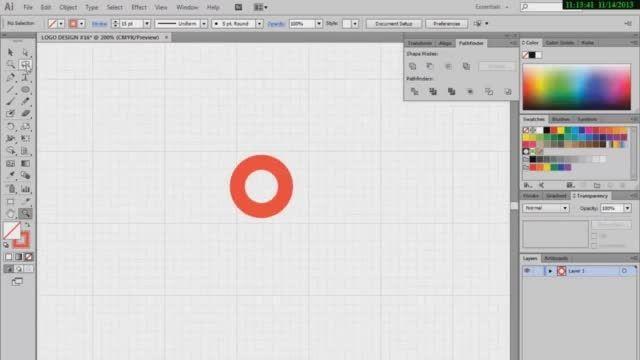 طراحی لوگو با ایلوستریتور | قسمت اول