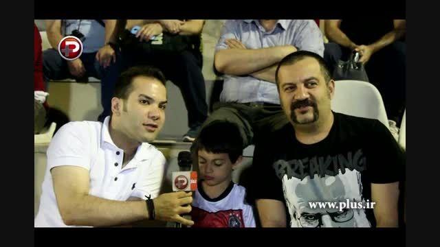گفتگوی طنز با مهراب قاسم خانی در حاشیه جام ستاره ها