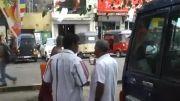 خودسوزی در خیابان