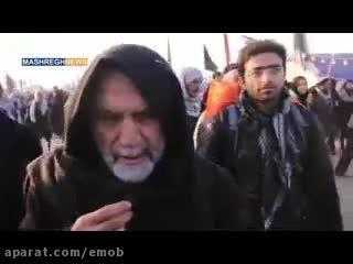 سردار همدانی در راهپیمایی اربعین