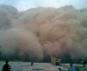 ورود گرد و غبار از سمت اهواز به اندیمشک