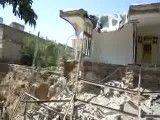 ریزش ساختمان مجاور شهرداری اهر