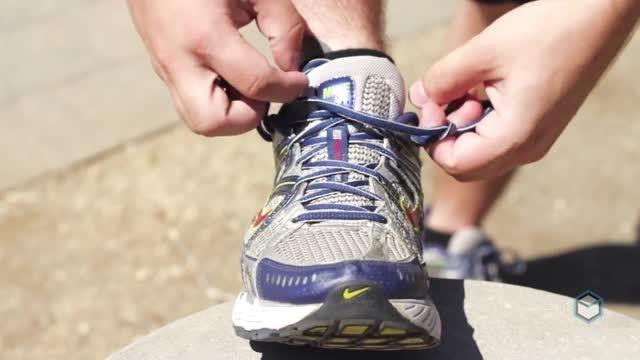 نحوه صحیح بستن بند کفش مخصوص دویدن [HD]