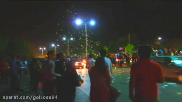جشن مردم اهواز بعد از توافق هسته ای
