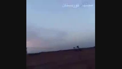 عبور موشک کروز روسیه کردستان عراق +داعش