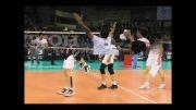 تبریک پیروزی تیم ملی والیبال ایران بر ایتالیا