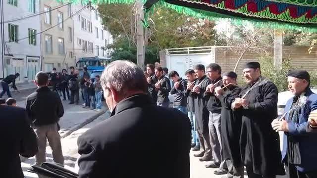 زنجیرزنی  دسته حسینیه حور در اردبیل