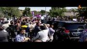 استقبال گرم مردمی از آقای روحانی در بازگشت از نیویورک...