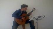 محبوب ترین قطعه گیتار کلاسیک از علیرضا نصوحی