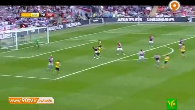 نگاه ویژه به فینال جام حذفی انگلیس -آرسنال و استون ویلا