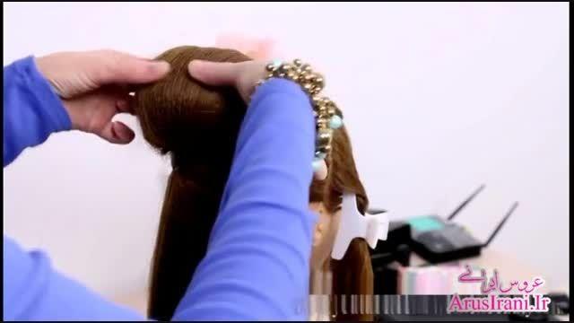 آموزش کامل مدل مو 20 - مدل موی مجلسی برای موهای متوسط